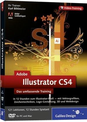 Adobe Illustrator CS4 - Das umfassende Training auf DVD [import allemand]