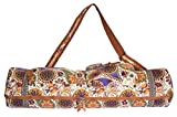 SukhaMat - Large Yoga Mat Bag Carrier with 3 Storage Pockets, Air-Vents and...