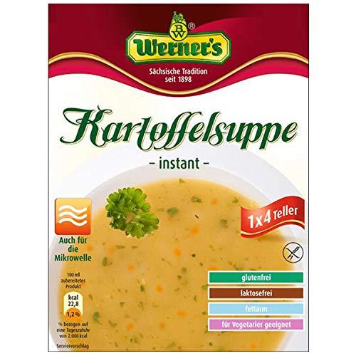Werner Kartoffelsuppe, 4 Teller