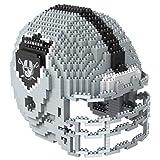 Oakland Raiders NFL 3D BRXLZ Construction Toy Blocks Set - Helmet
