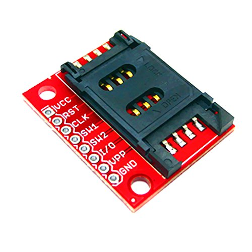 MagiDeal Electronic Components Development Board Module SIM Card Socket Breakout