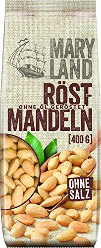 Maryland Röst-Mandeln Snack geröstet ungesalzen vegan, 400g