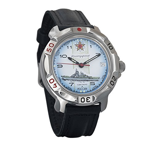 Vostok Komandirskie 2414 811428 - Reloj mecánico, diseño...