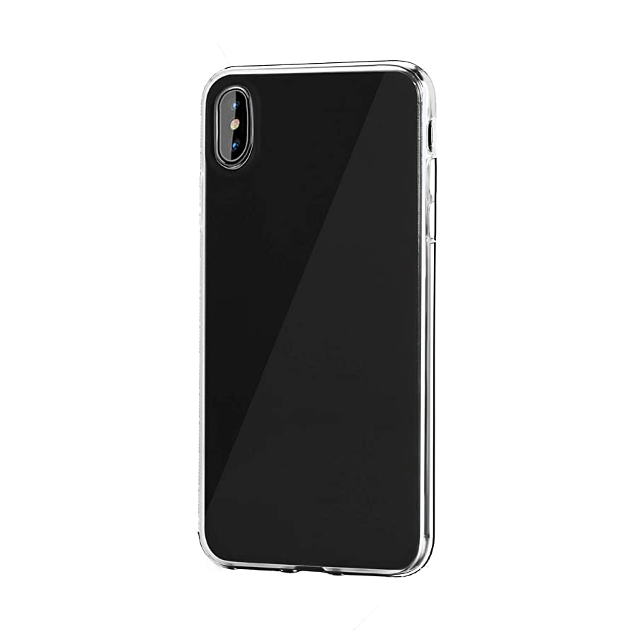 iPhone?X?case Clear Scratch Resistant with Soft TPU Bumper Transparent Slim Back Protect The Screen and Drop Protection Compatible with iPhone X/Xs 5.8 inch (Transparent)