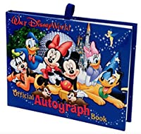 (1 book) - Walt Disney World Exclusive Official Autograph Book