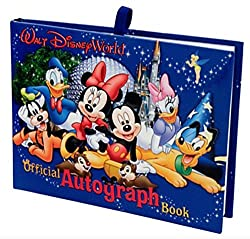 Disney Autograph book. Perfect for your Disney World packing list.