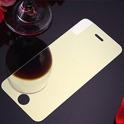 BEESCLOVER Temper Glas Film Kleurrijke Scherm Volledige Beschermer Temper Glas Film, Gold for iPhone 8/7