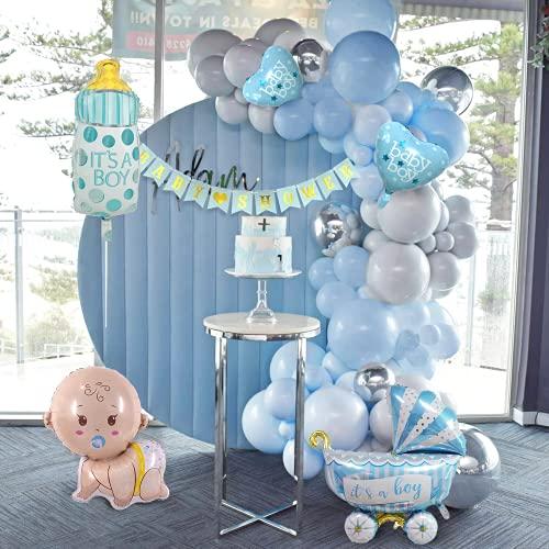 Decorazioni Baby Shower,Owinus Palloncini Nascita Bambino Palloncini Battesimo Bambino...