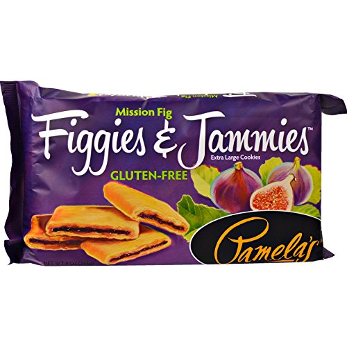 Pamela's Products, Figgies & Jammies, Extra Large Cookies, Mission Fig, 9 oz (255 g) - 2PC
