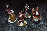 War in Christmas Village Miniature Set