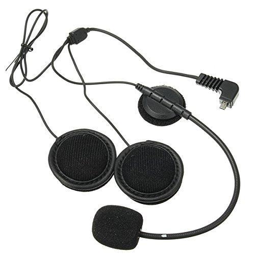 NICOLIE BT-S2 Auricular De Intercomunicador con Micrófono BT-S1 BT-S3 para Casco De Motocicleta Interphone