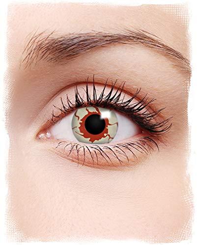 Horror-Shop Blutige Kontaktlinsen