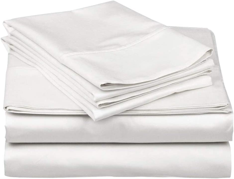 Cotton Bed Sheets - 300 Thread Inexpensive Albuquerque Mall Count inch 10 Deep 15 to Sateen