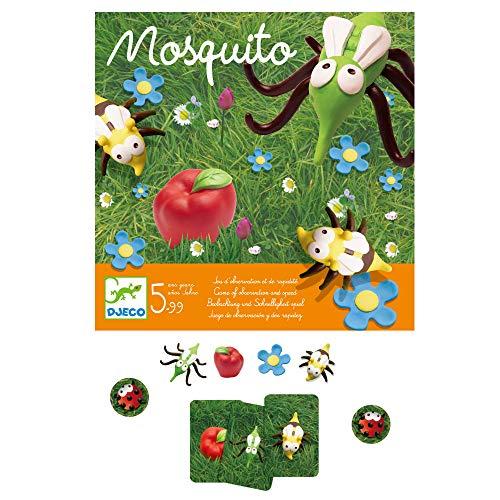 Djeco- Juegos de acción y reflejosJuegos educativosDJECOJuego Mosquito, Multicolor (15)