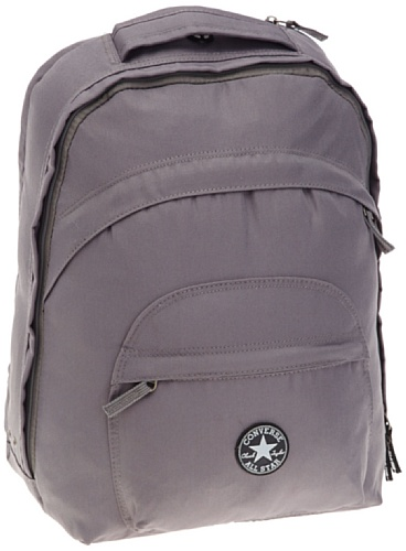 CONVERSE Schulrucksack DOUBLE D COMMUTER Notebook Rucksack Schultasche Converse Charcoal