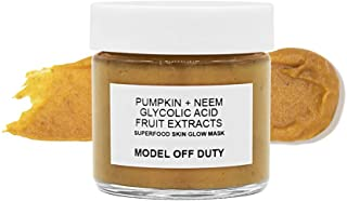 Model off Duty Beauty Superfood Skin Glow Mask | Exfoliating Brightening Face Mask | Antioxidant Replenishing Facial Mask ...