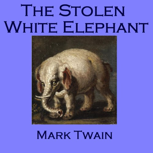 The Stolen White Elephant audiobook cover art
