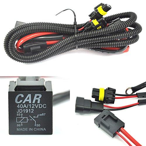 Faisceau de câblage universel pour tous les kits HID Single H1 H3 H4 H7 H8 H9 H10 H11 H13 9004 9005 9006 9007 5202 880 884
