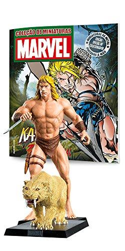 Kazar & Zabu - Coleção Marvel Figurines
