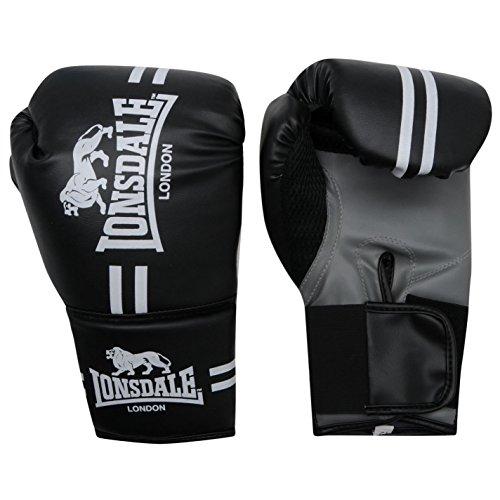 Guanti Pugilato Lonsdale - Tg. L/XL - Colore: Nero - Boxe Boxing Allenamento RIng Sacco