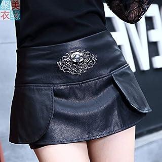 9ea7c6a52 Amazon.es: minifalda cuero