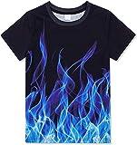 RITIOA Camiseta unisex con impresión de cuello redondo en 3D con impresión 3D, de verano, divertida, manga corta, cuello redondo, para hombre y mujer, pieza en T T4 XXXXL
