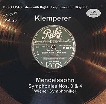 LP Pure, Vol. 30: Klemperer Conducts Mendelssohn