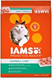 Iams Proactive Health Adult Hairball Care Dry Cat Food With Chicken And Salmon,...