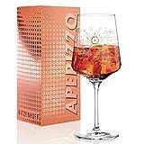RITZENHOFF Aperizzo Aperitifglas von Natalia Yablunovska, aus Kristallglas, 600 ml, mit edlen...