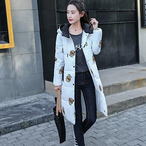 Xuanku Le Joli Manteau d'hiver Et Coton Femmes Manteau d'hiver VêteHommests en Coton Long Paragraphe