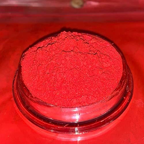 Dipoxy Bright-Red-Pearl-Rot02 Pigment Farbmittel für Epoxidharz, Polyesterharz, Polyurethan Systeme, Beton, Lacke, Kunstharz Schmuck