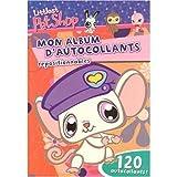 ALBUM AUTOCOLLANT LITTLEST PET