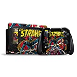 Skinit Decal Gaming Skin Compatible with Nintendo Switch Bundle - Officially Licensed Marvel/Disney Doctor Strange Hail The Master Design