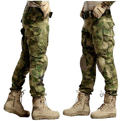 Tarnung Militar Taktische Hosen Armee Militäruniform Hose ACU Airsoft Paintball Combat Cargo Pants Atacs Fg XXXL