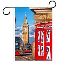 ガーデンフラッグ庭の旗、屋外バナー垂直12x18インチイギリスはヨーロッパの出発に投票します 家の装飾のため
