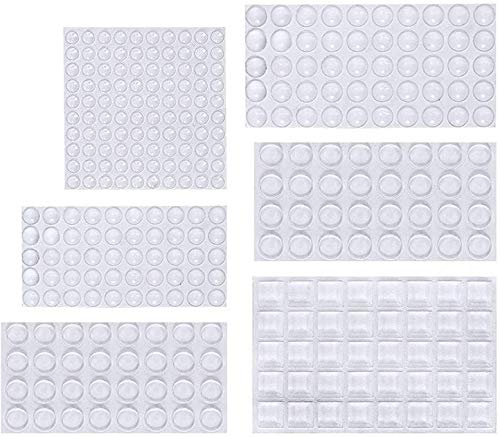 ソフトクッション ONUEMP戸当たりクッション 304粒 6サイズ粘着 ソフトクッション 透明・緩衝・防振・滑り...