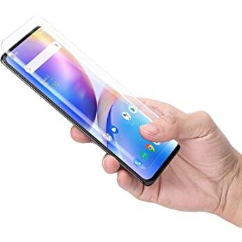 Caseme [1 Pack Oneplus 8 Screen Protector, Full HD Curved Edge [Liquid UV Tempered Glass][Exclusive Solution for Ultrasonic Fingerprint] Easy Install for Oneplus 8