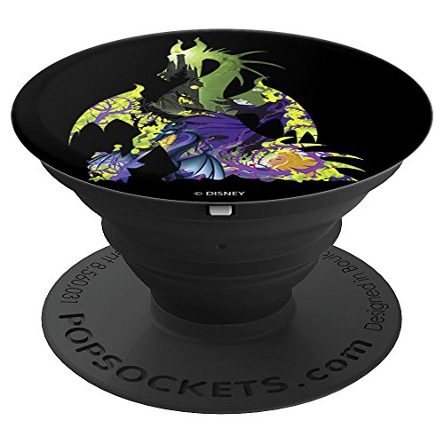 Disney Sleeping Beauty Maleficent Dragon Silhouette Fill PopSockets Grip and Stand for Phones and Tablets