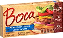 Boca, All American Classic Burger, 10 oz (Frozen)
