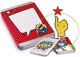 Geldgeschenke Verpackung FETTES LIKE; die Hand richtet sich beim Öffnen mit dem Geschenk auf; Geschenkbox Abitur Dankeschön-Geschenk für Mann und Frau