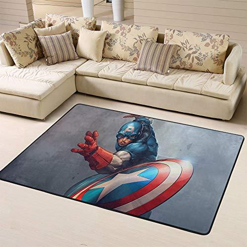 Zmacdk Avengers Infinity - Alfombra para dormitorio infantil (180 x 270 cm), diseño de Avengers Infinity