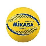 ミカサ(MIKASA) カラーソフトバレーボール 円周78cm 検定球(イエロー) MSN78-Y [並行輸入品]