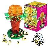Brigamo Bee Tree - Gioco di società divertente per 2 giocatori, giochi a partire da 4 anni