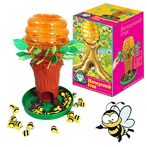 Brigamo Bee Tree Kinderspiel,lustiges Gesellschaftsspiel für 2 Spieler, Spiele ab 4 Jahren