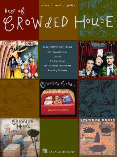 Best of Crowded House Songbook (English Edition)