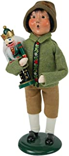 Byers' Choice Nutcracker Boy Caroler Figurine 4844D from The Christmas Market Collection Collection