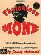 Vol. 56, Thelonious Monk (Book & CD Set)