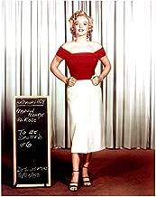 Niagara Marilyn Monroe Red Blouse Costume Screen Test 8 x 10 Photo