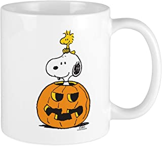 CafePress Snoopy And Woodstock Halloween Unique Coffee Mug, Coffee Cup