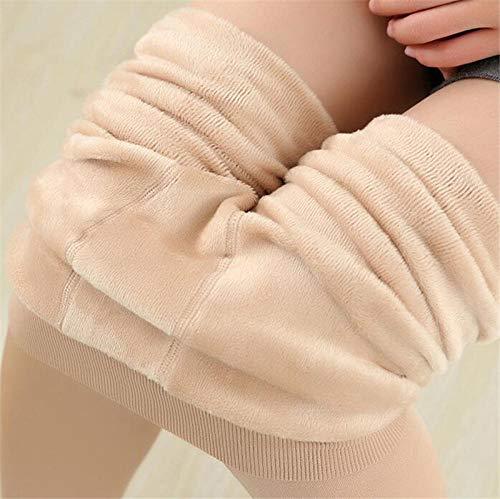 Bylydeco-deco Leggings für Damen Frauen warme Gamaschenbeiläufige Winter-hohe Taillen-Jeggings halten dünne Elastizität weibliche Gamaschen sh Up-_XL